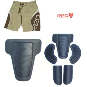 Red Impact Shorts