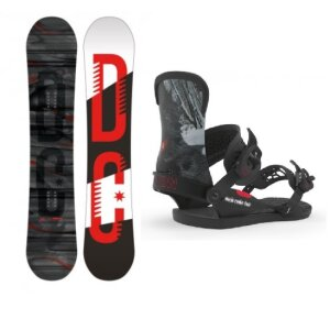 DC Focus 149 Snowboard + Union World Rookie Tour M