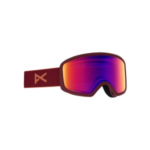 Anon Womens Deringer MFI Goggle Ruby + Spare Lens 2020