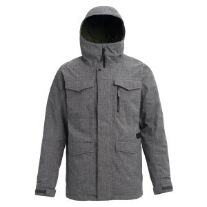 Burton Covert Shell Jacket Bog Heather