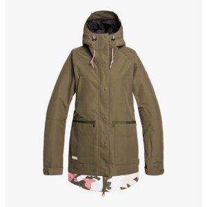DC Womens Riji Snow Jacket Olive 2020