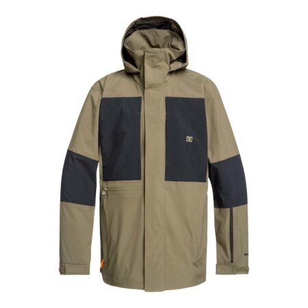 DC Command Packable Snow Jacket Olive 2020