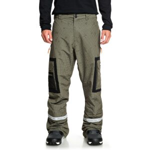 DC Revival Snow Pants Olive Camo 2020