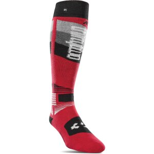 ThirtyTwo Asi Merino Performance Sock Red S/M