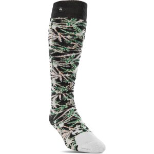 ThirtyTwo Sweet Leaf Sock White L/XL