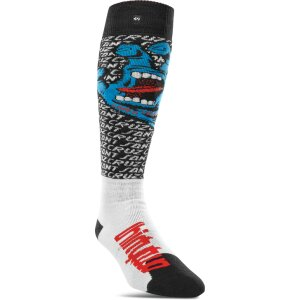 ThirtyTwo Santa Cruz Sock White L/XL