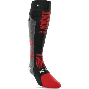 ThirtyTwo Asi Coolmax Comfort Sock Black/Charcoal S/M
