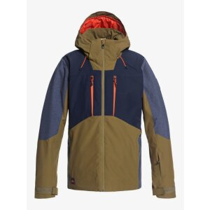 Quiksilver Mission Plus Jacket Olive 2021
