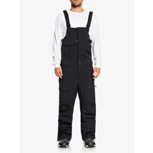 Quiksilver Utilty Shell Bib Pant True Black 2021