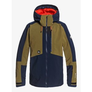 Quiksilver Forever 2L Gore-Tex Shell Jacket Olive 2021