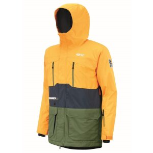 Picture Pure Jacket Yellow Dark Blue 2021