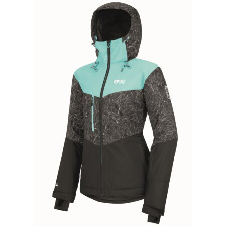 Picture Womens Week End Jacket Turquoise Black 2021 M